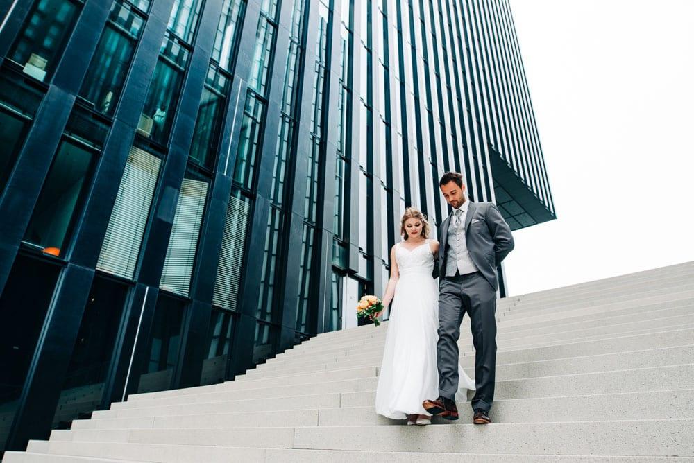 Hochzeitsfotos Medienhafen